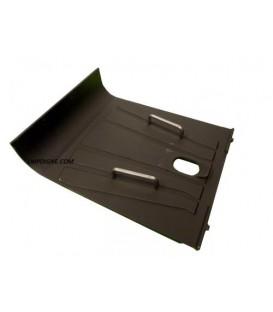 Plaque arrière de foyer PALAZZETTI + 2 poignées (C)