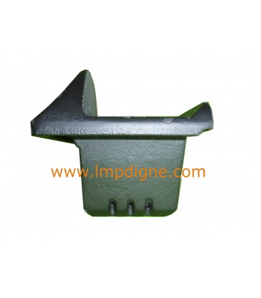Brasier fonte 1,8 kg pour poêle à granulés LX CMG