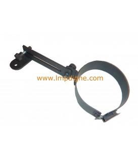 Collier règlable pour tuyau D80 poêle à granulés