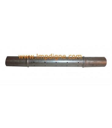 Tube inducteur Deville 2 colerettes diamètre 24mm