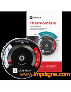 Thermomètre magnétique de tuyau